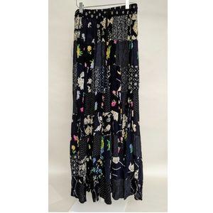 24 KARAT Women's Multi-Color Floral Maxi Skirt